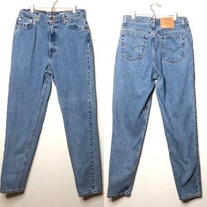 Vintage Levi's 90s 512 slim tapered leg mom jeans